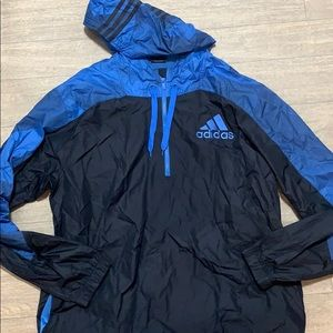 Men's Adidas windbreaker hoodie size 2XL